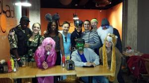 Halloween bar crawl!!