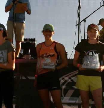 2nd place overall female!! Finally broke 5 hours :)